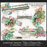 Take a Chance Clusters Pack-$3.99 (Jumpstart Designs)