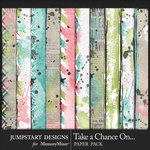 Take a Chance Blended Paper Pack-$3.99 (Jumpstart Designs)