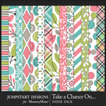 Take a Chance Patterned Paper Pack-$3.99 (Jumpstart Designs)