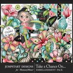 Take a Chance Embellishment Pack-$4.99 (Jumpstart Designs)