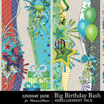 Big Birthday Bash Borders Pack-$1.99 (Lindsay Jane)