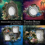 Timeless Beauty QuickPage Set 2-$4.99 (MagicalReality Designs)