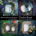 Timeless Beauty QuickPage Set 1-$4.99 (MagicalReality Designs)