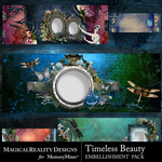Timeless Beauty Facebook Timelines Pack-$2.99 (MagicalReality Designs)