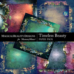 Timeless Beauty Stacked Paper Pack-$2.50 (MagicalReality Designs)