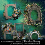 Timeless Beauty Cluster Set 2-$3.99 (MagicalReality Designs)