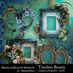 Timeless Beauty Cluster Set 1-$3.99 (MagicalReality Designs)