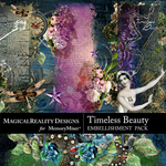Timeless Beauty Border Pack-$3.49 (MagicalReality Designs)
