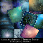 Timeless Beauty Background Papers-$5.49 (MagicalReality Designs)