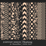 Heartsong Basic Paper Pack-$3.99 (Jumpstart Designs)