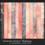 Heartsong Blended Paper Pack-$3.99 (Jumpstart Designs)
