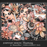 Heartsong Embellishment Pack-$4.99 (Jumpstart Designs)