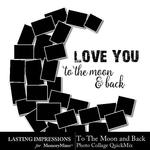 Collage To The Moon and Back-$2.49 (Lasting Impressions)