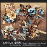 Sweet Cinnamon on the Breeze Clusters Pack-$3.99 (Jumpstart Designs)