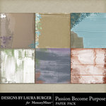Passion Become Purpose Cardboard Papers-$2.80 (Laura Burger)
