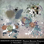 Passion Become Purpose Scatters Pack-$3.49 (Laura Burger)