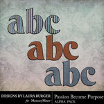 Passion Become Purpose Alphabet Pack-$2.80 (Laura Burger)