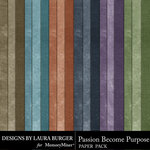 Passion Become Purpose Solid Paper Pack-$2.99 (Laura Burger)