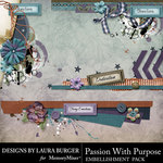 Passion Become Purpose Paper Bits Pack-$3.49 (Laura Burger)
