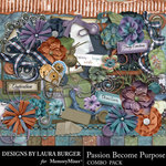 Passion Become Purpose Combo Pack-$7.99 (Laura Burger)