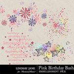 Pink Birthday Bash Scatterz Pack-$1.40 (Lindsay Jane)
