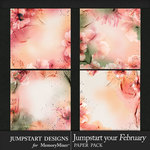 Jumpstart Your February 2017 Watercolor Papers-$2.80 (Jumpstart Designs)