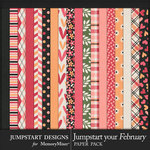 Jumpstart Your February 2017 Patterned Papers-$2.80 (Jumpstart Designs)