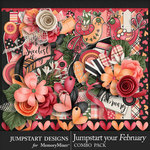 Jumpstart Your February 2017 Combo Pack-$7.99 (Jumpstart Designs)