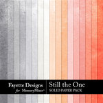 Still the One Solid Paper Pack-$3.99 (Fayette Designs)