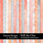 Still the One Patterned Paper Pack-$4.99 (Fayette Designs)