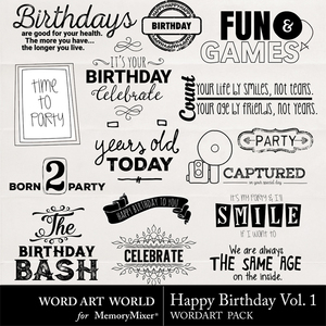 Happy birthday vol. 1 medium