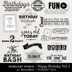 Happy birthday vol. 1 small