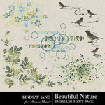 Beautiful Nature Scatterz Pack-$1.99 (Lindsay Jane)
