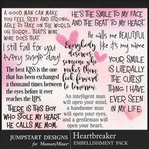 Jsd heartbreaker wordart medium