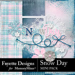 Snow Day FD Mini Pack-$2.49 (Fayette Designs)