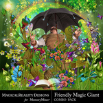 Friendly Magic Giant Combo Pack-$4.49 (MagicalReality Designs)