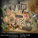 Lucky Lady Mini Pack-$3.49 (MagicalReality Designs)