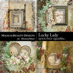 Lucky Lady QuickPage 2-$3.99 (MagicalReality Designs)