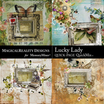 Lucky Lady QuickPage 1-$3.99 (MagicalReality Designs)
