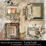 Lucky Lady Cluster 2 Pack-$3.99 (MagicalReality Designs)