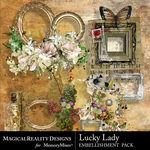 Lucky Lady Cluster 1 Pack-$3.99 (MagicalReality Designs)