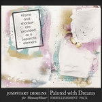 Painted With Dreams Art Transfers Pack-$3.99 (Jumpstart Designs)