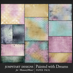 Painted With Dreams Blended Paper Pack-$3.99 (Jumpstart Designs)