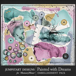 Painted With Dreams Torn Bits Pack-$3.99 (Jumpstart Designs)