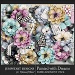 Painted With Dreams Blooms Pack-$4.99 (Jumpstart Designs)