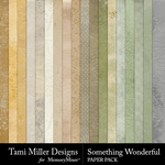 Something Wonderful TM Paper Pack-$2.99 (Tami Miller)