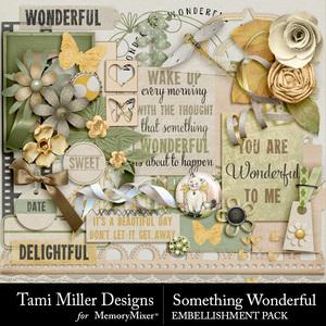 Something wonderful embellishments medium