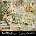 Something Wonderful TM Combo Pack-$5.99 (Tami Miller)