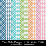 Life is Beautiful Extra Paper Pack-$1.50 (Tami Miller)