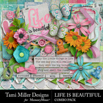 Life is Beautiful Combo Pack-$3.50 (Tami Miller)